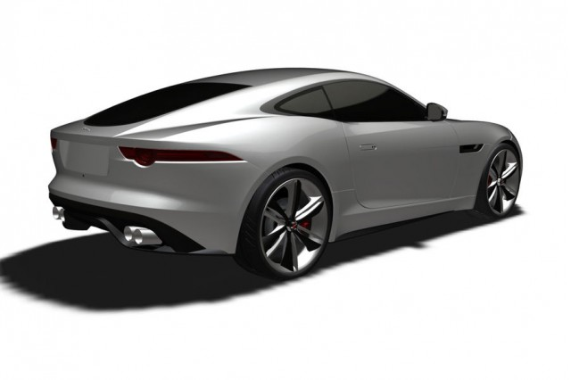 Jaguar F-Type Coupe Patent Filing