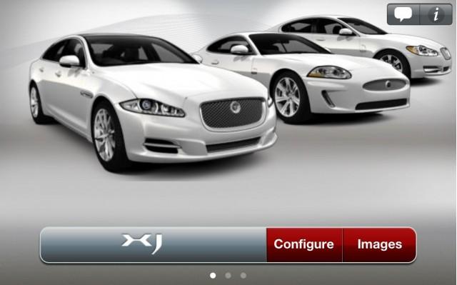 Jaguar iPad App