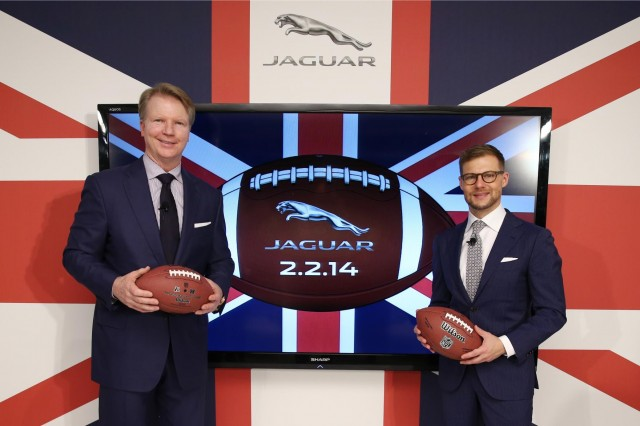 Jaguar wins advertising slot at 2014 Super Bowl