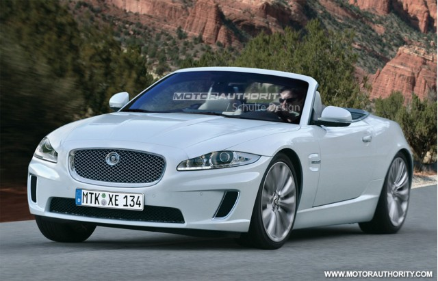 Jaguar XE Roadster rendering