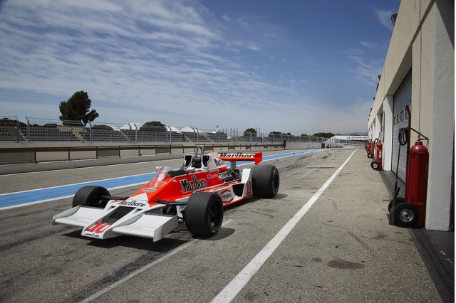 James Hunt 39 S Mclaren M26 F1 Car Going Up For Auction