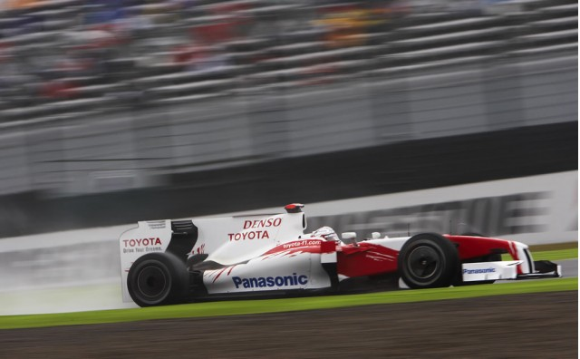 Jarno Trulli during practice at the 2009 Japanese GP