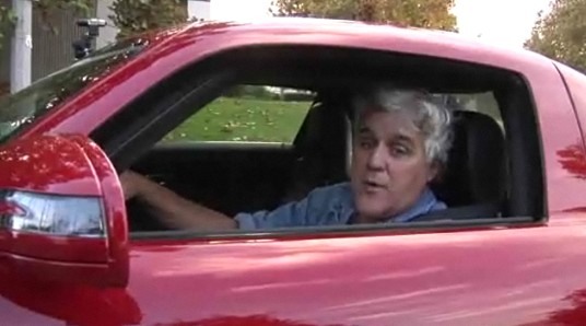 Jay Leno and the 2010 Mercedes-Benz SLS AMG