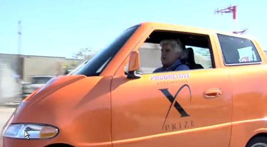 Video: Jay Leno Goes Cheek-To-Cheek With The Tango EV