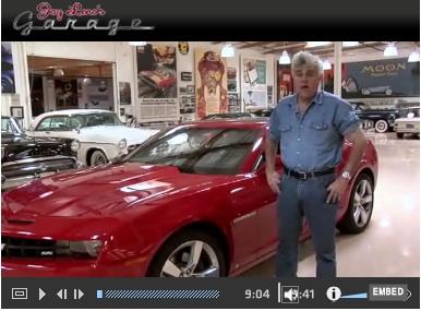 Jay Leno Reviews Camaro SS