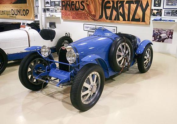 Jay Leno's Bugatti Type 51. Image: Jay Leno's Garage