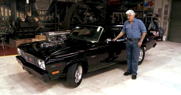 Jay Leno's Garage spends some time with a custom 1975 Plymouth Duster