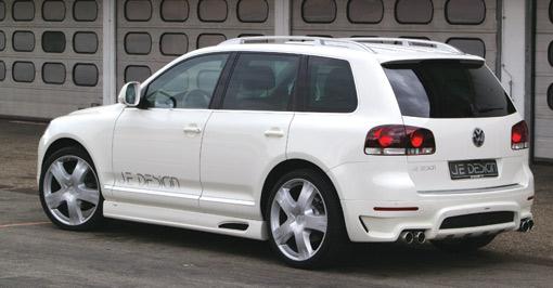 Je Design's new kit for the VW Touareg facelift