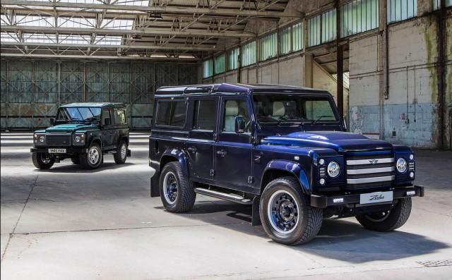 Je Motorworks Turns Land Rover Defender Into Off Road Hot Rod