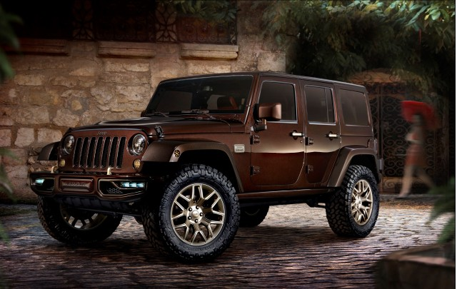 Jeep Wrangler Sundancer design concept