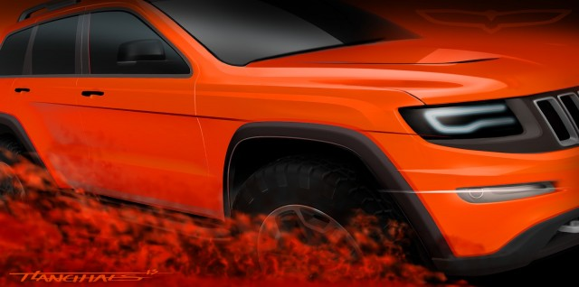 Jeep's Trailhawk II concept - image: Chrysler Group LLC