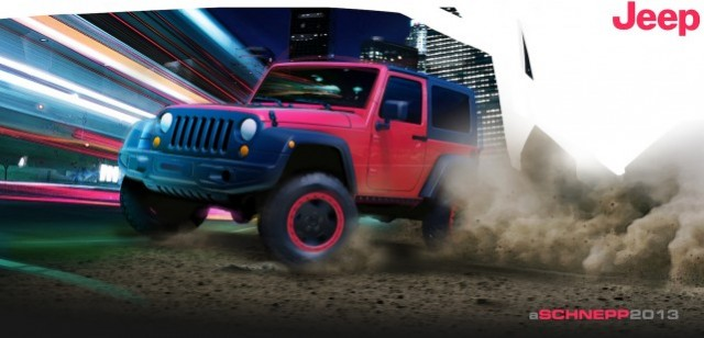 Jeep's Wrangler Slim concept - image: Chrysler Group LLC