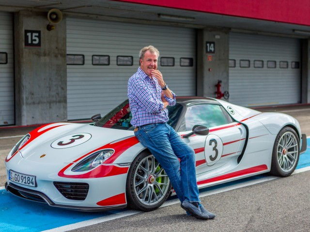 Jeremy Clarkson of The Grand Tour [publicity photo provided by Amazon]
