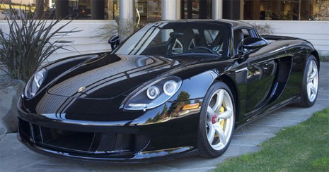 Jerry Seinfeld Selling His Porsche Carrera Gt