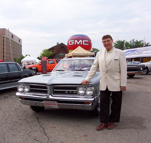 Jim Wangers and Pontiac GTO