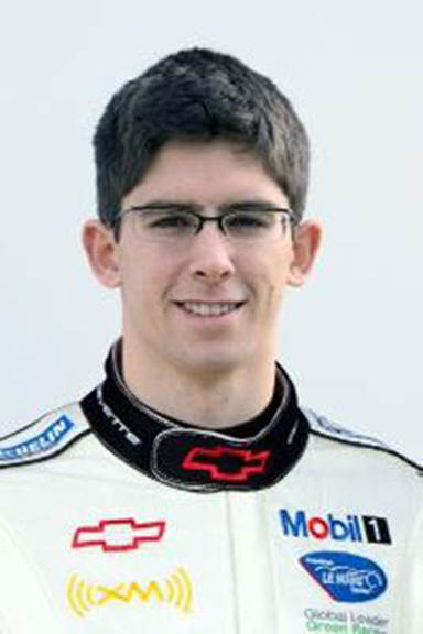 Jordan Taylor - courtesy Corvette Racing