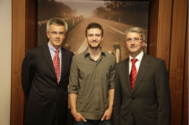 Justin Timberlake, Audi brand ambassador