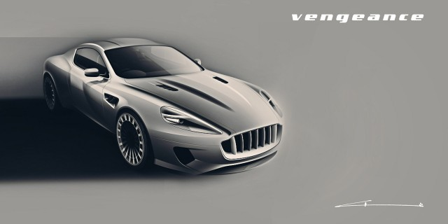 Kahn Design WB12 Vengeance based on the Aston Martin DB9