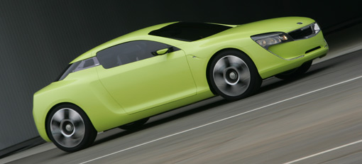 Sports Coupe Concept marks new face of Kia