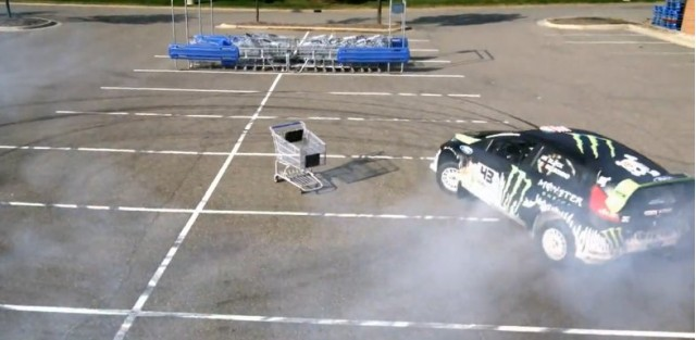 Ken Block goes shopping