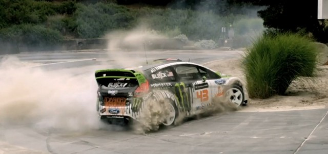 Ken Block in Gymkhana FOUR
