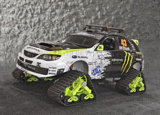 Ken Block's Subaru STI Trax