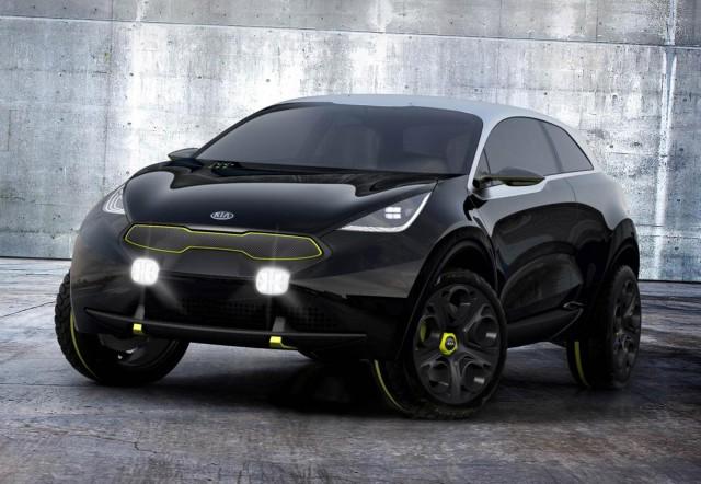 Kia Niro concept, 2013 Frankfurt Auto Show