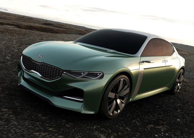 Kia Novo concept, 2015 Seoul Auto Show