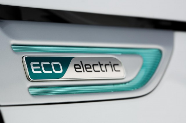 Kia Soul EV badge