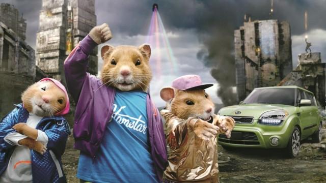 Kia Soul hamsters in 'Share Some Soul'