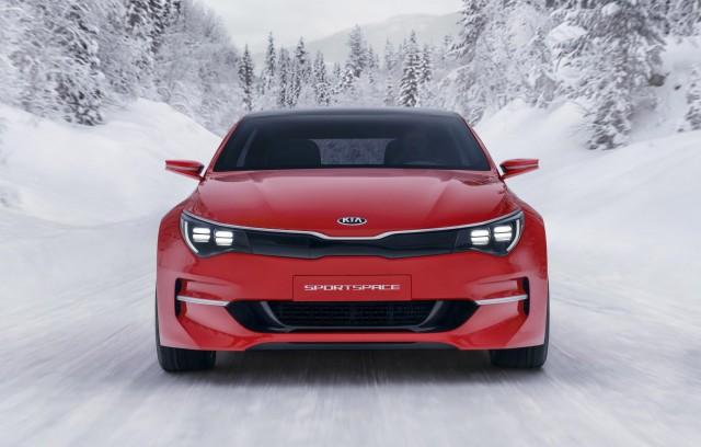 Kia Sportspace concept, 2015 Geneva Motor Show