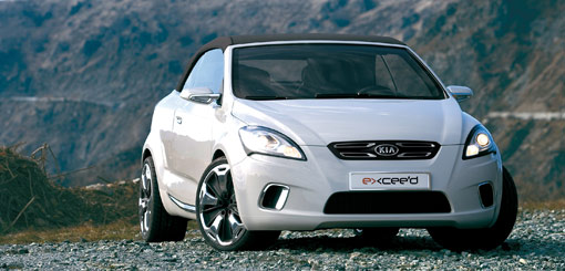 Kia's new ex_cee'd cabrio concept