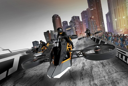 KTM Ascender flight vehicle