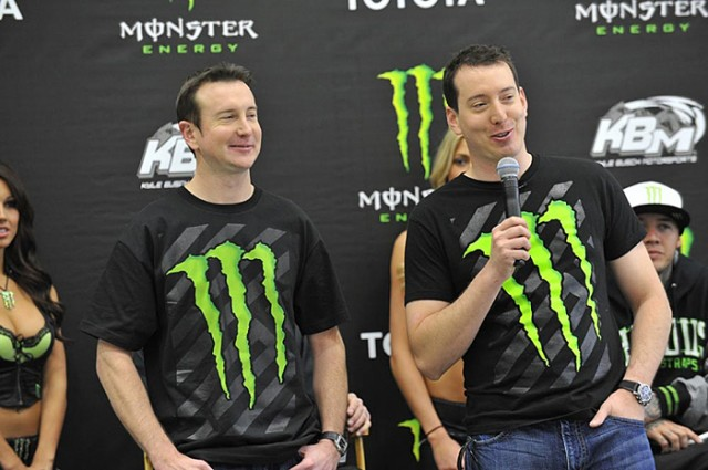 Kurt and Kyle Busch - Photo courtesy Kyle Busch Motorsports