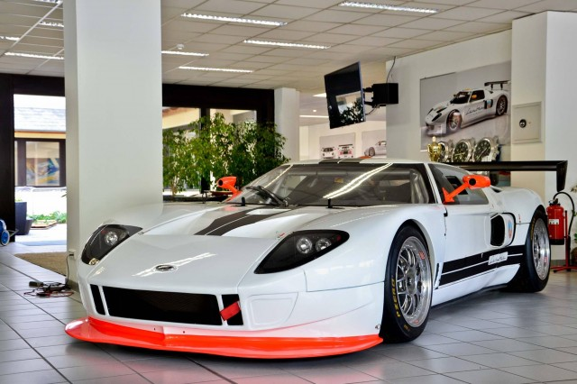Lambda Performance Ford GT GT3 race car. Image via Lambda Performance.
