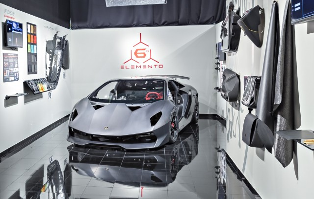 Lamborghini Looks To Carbon Fiber For Engine Parts