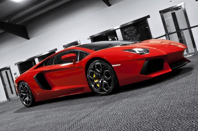 Lamborghini Aventador by A. Kahn Design