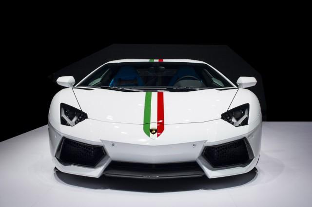 Lamborghini Aventador LP 700-4 Nazionale by Ad Personam, 2014 Beijing Auto Show