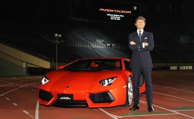 Lamborghini CEO Stephan Winkelman