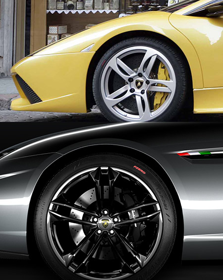 Comparison of door-line from Murcielago and teaser confirms the cars are different. Same story applies for Gallardo.