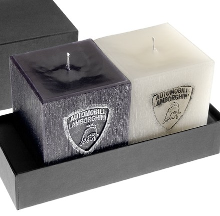Lamborghini holiday candles