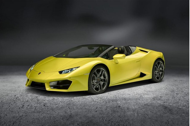 Lamborghini Huracan Spyder Now In Rear-Drive Form