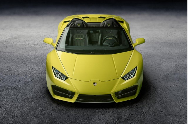 Lamborghini Huracan rear-wheel drive Spyder revealed in LA