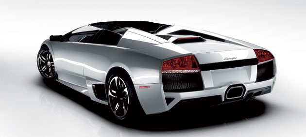 Cars like this Lamborghini Murcielago Roadster are more likely to draw attention from the fairer sex