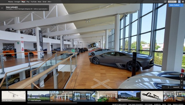 Lamborghini Museum virtual tour