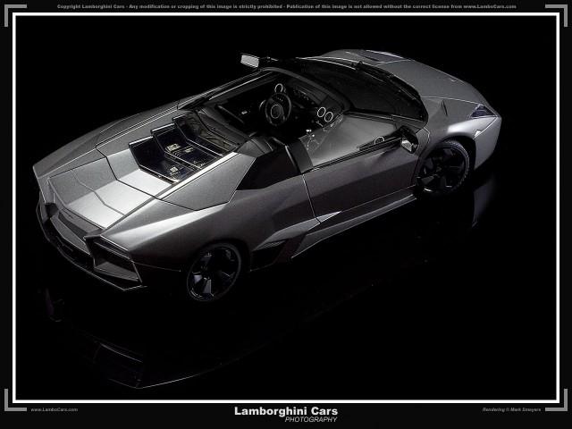 Lamborghini Reventon Roadster rendering