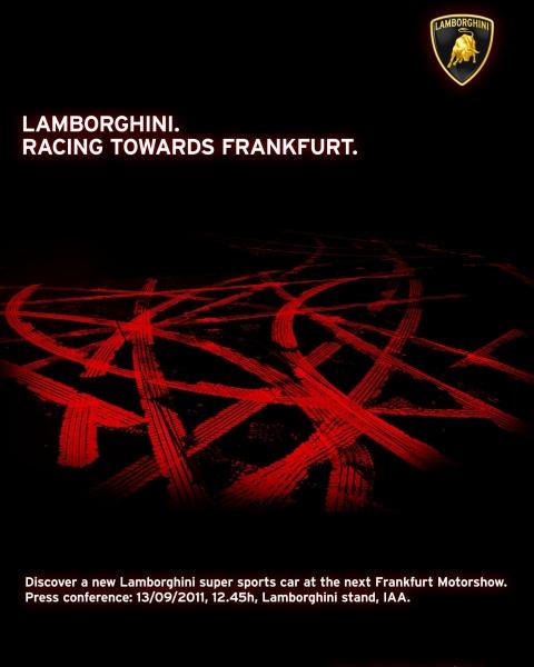 Lamborghini teaser for new supercar