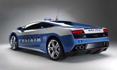Lamborghini LP560-4 Polizia