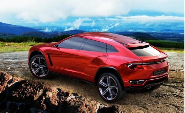Lamborghini's Urus concept.