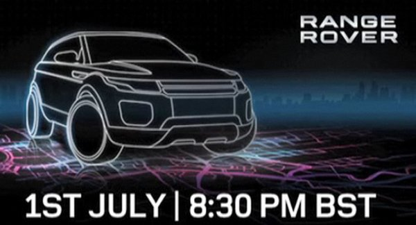 Land Rover compact crossover preview sketch